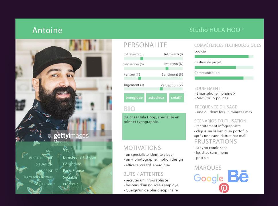 Tp Ux design - persona