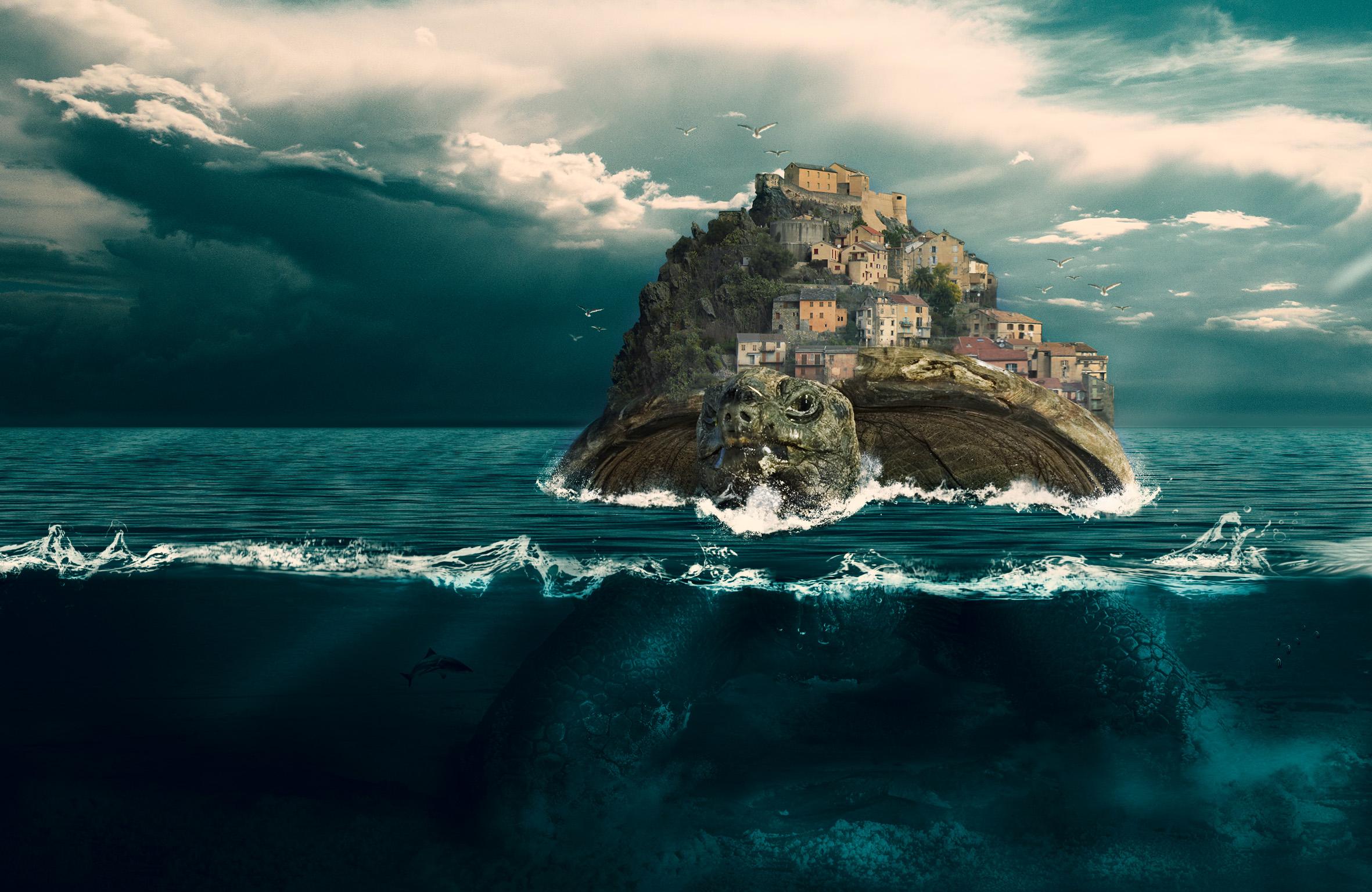 Willy FOURNIER - Matte painting réalisé sous Photoshop et Illustrator