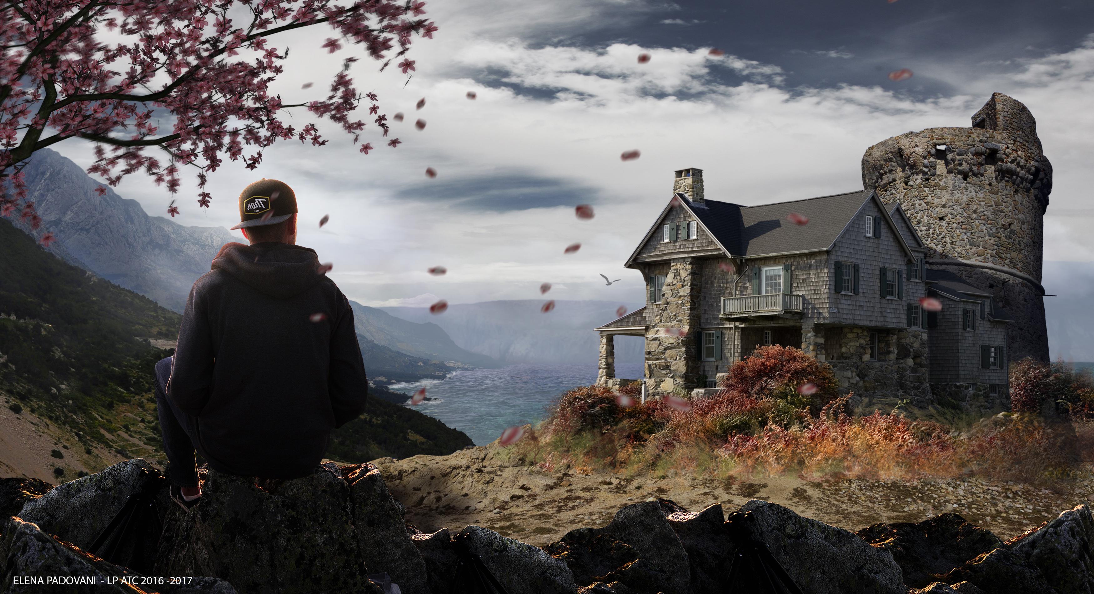 padovani elena - Matte painting réalisé sous Photoshop et Illustrator