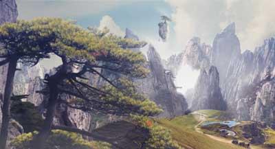 Valentin Luang Rath - Matte painting et design réalisé sous Photoshop et Illustrator