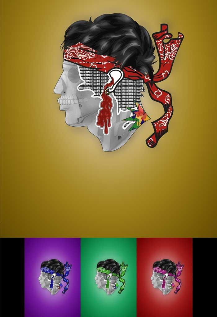 Audrey Yousfi - Illustration digitale - Illustrator + Wacom cintiq 16