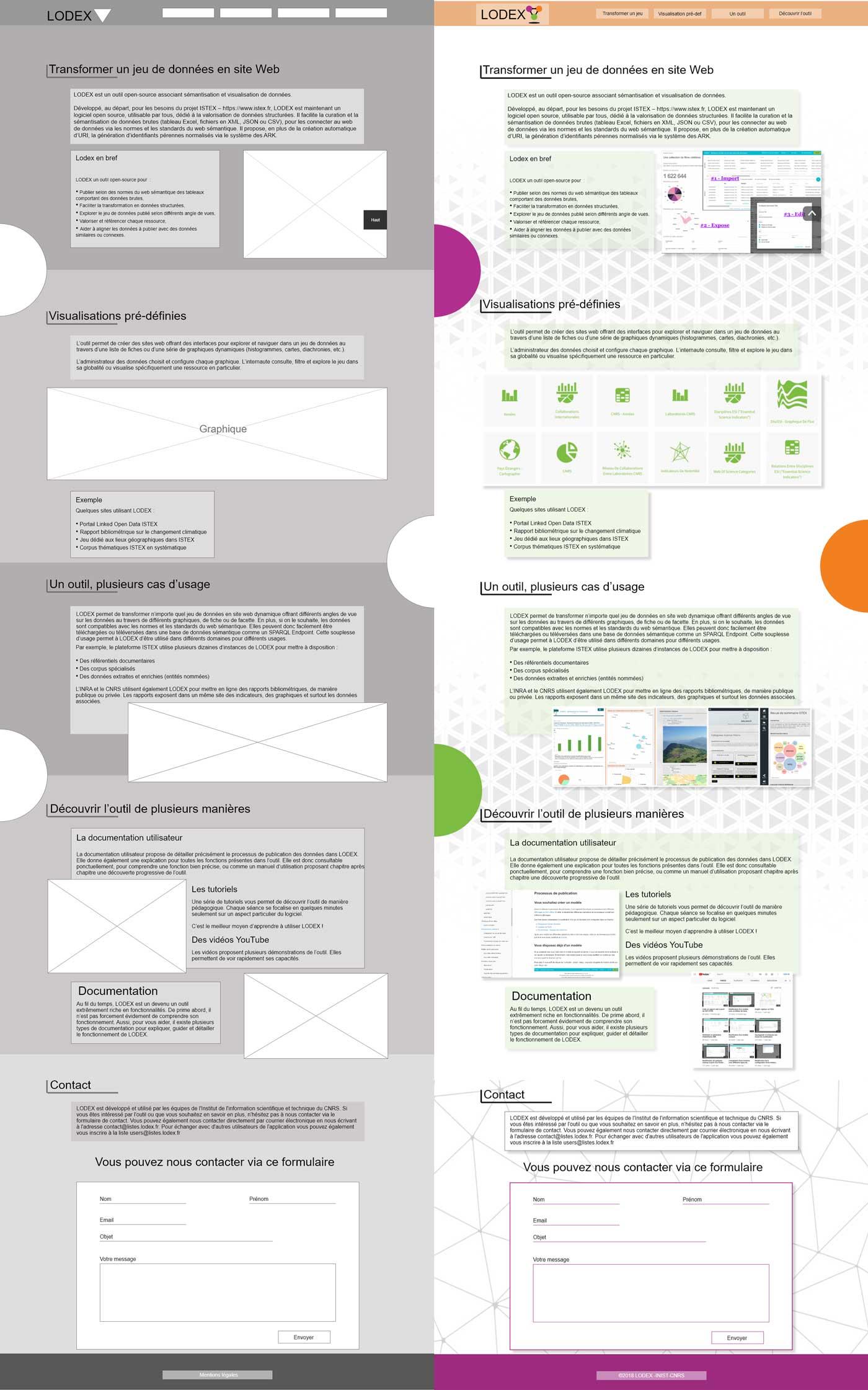 UI design UX design - Gobelins